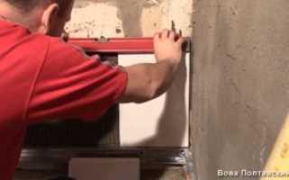 Как приклеить кафель на гипсокартон