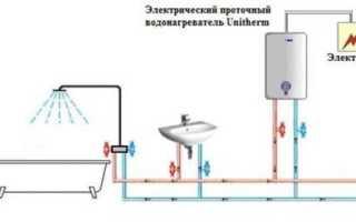Что значит проточный водонагреватель
