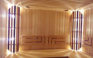 Какая высота потолка должна быть в бане