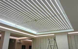 Светящийся потолок как основное освещение