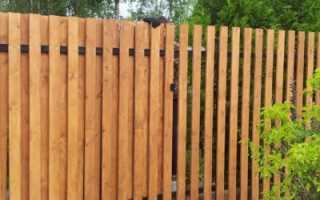 Как построить забор из досок своими руками